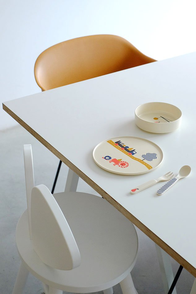 Tableware Lion Set