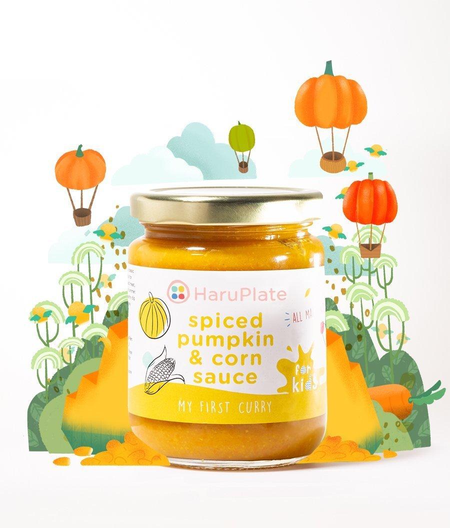 My First Curry - Spiced Pumpkin Sauce