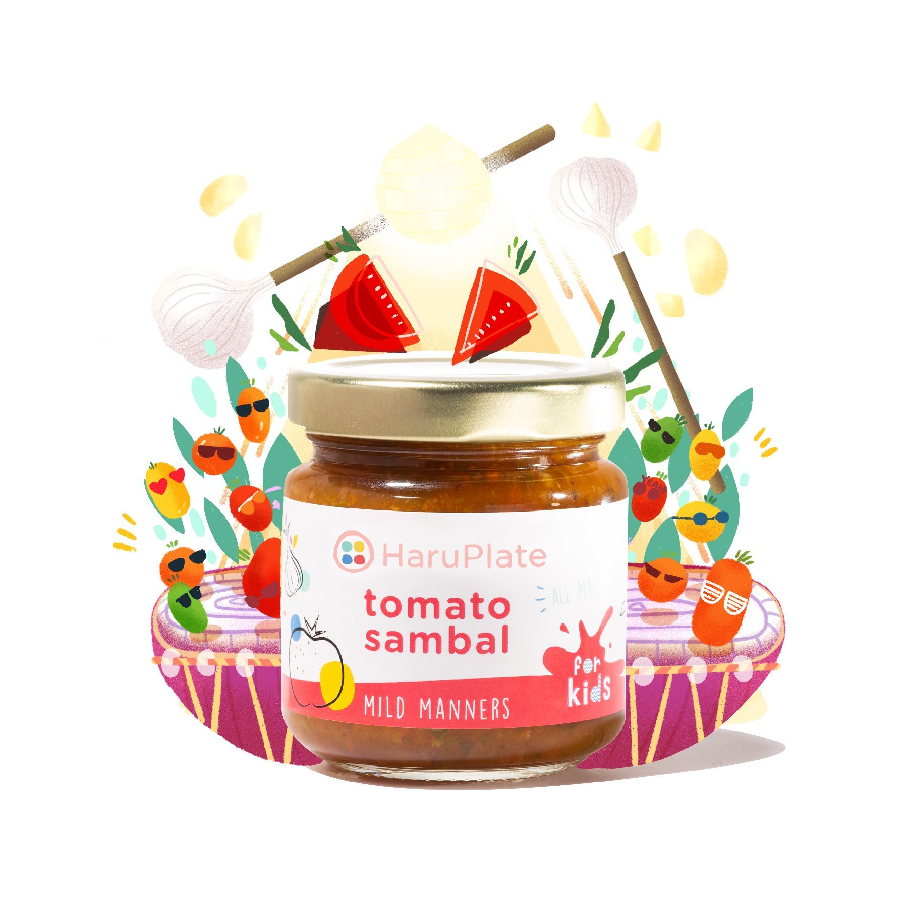 Mild Manners - Non-Spicy Tomato Sambal